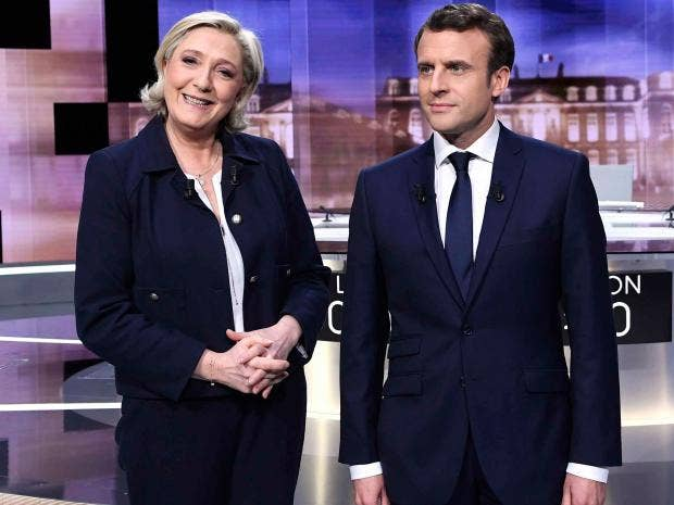 French elections: Defeated Marine Le Pen claims 'historic' gains, wishes Macron 'success'