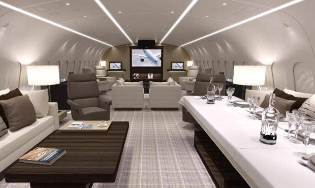 The VVIP Private Jet That Costs 20000 An Hour To Hire