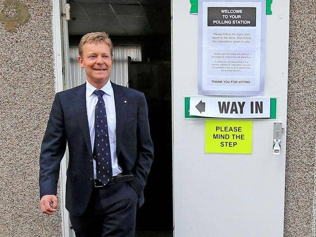 Craig Mackinlay, Conservative parliamentary candidate for South Thanet