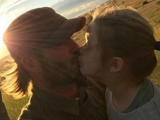 David beckham sparks parenting debate with instagram photo - Dave sparks instagram ...