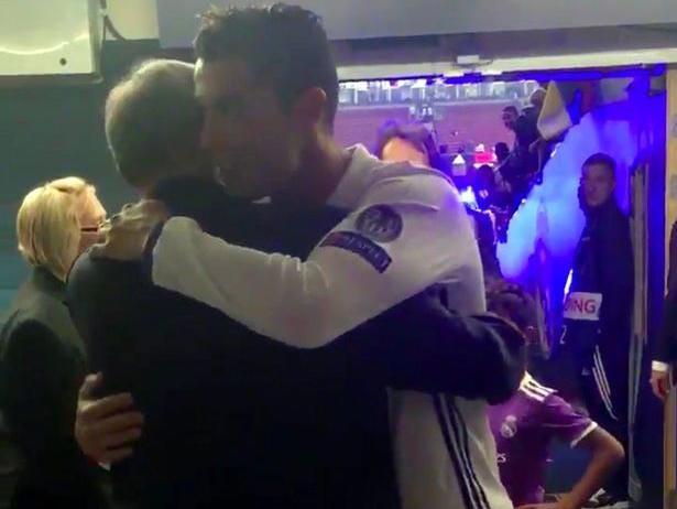 Cristiano Ronaldo Celebrates Champions League Final Win With His 'boss' Sir Alex Ferguso …