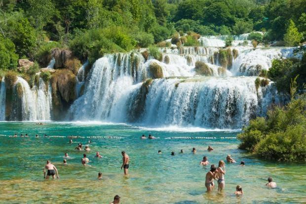 Αποτέλεσμα εικόνας για Croatia limits tourist numbers to save its famous waterfalls beauty