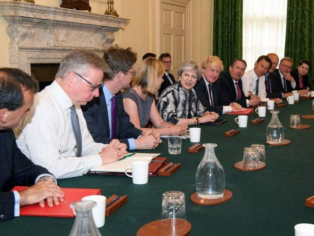 UK-Election-Theresa-May-first-cabinet-meeting