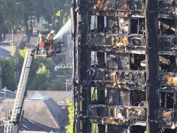 Grenfell Tower fire: council officials
