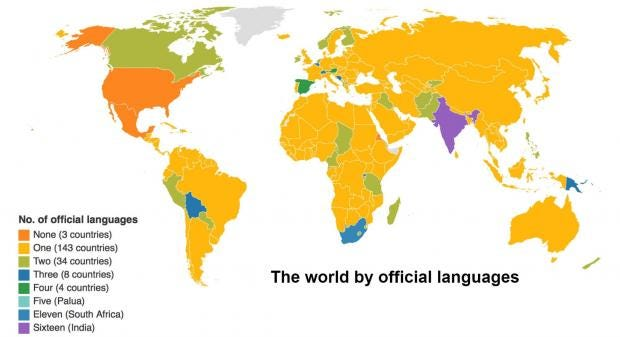 FYI: English isn't the official language of the United ...