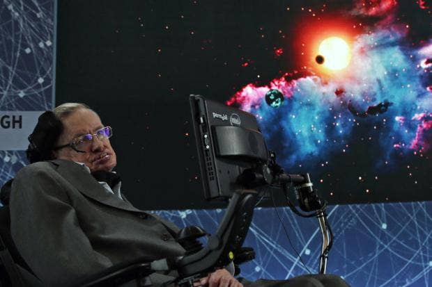 stephen hawking s phd thesis becomes ly available online  stephen hawking announces the exploration initiative breakthrough starshot epa