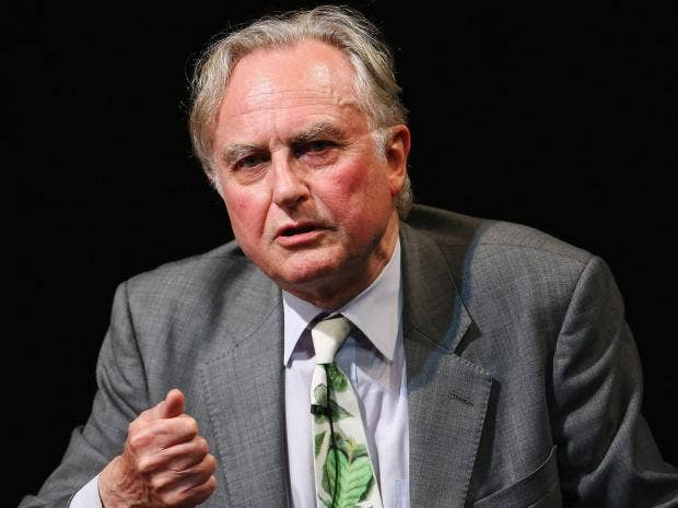 Richard Dawkins insists he has never criticised Islam - but a 2013 said it was the 'source of all evil' Getty Images