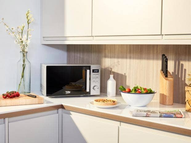 sharp r861. power player: microwaves have fought their corner as an indispensable kitchen aid sharp r861