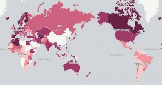 These are the worlds most dangerous countries indy100 these are the worlds most dangerous countries gumiabroncs Images