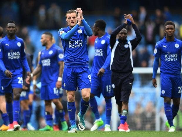 Image result for leicester city 2017/18
