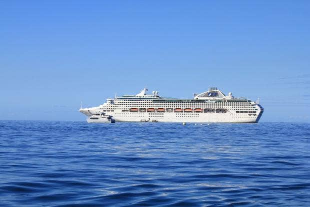 Cruise Liner On Journey From Sydney To Dubai Turns Into Ghost - Where is the sea princess cruise ship now