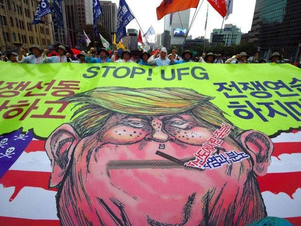 Here In South Korea, People Fear Donald Trump More Than -3755
