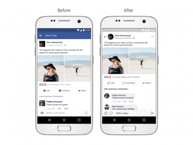 Facebook Redesign Transforms News Feed With Circular
