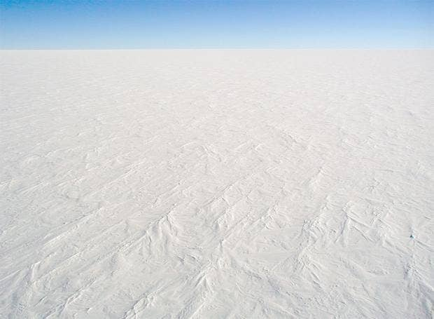 The Earth was once covered almost entirely by ice and the massive glaciers are believed to have played a key role in the emergence of complex life Stephen Hudson/Wikipedia