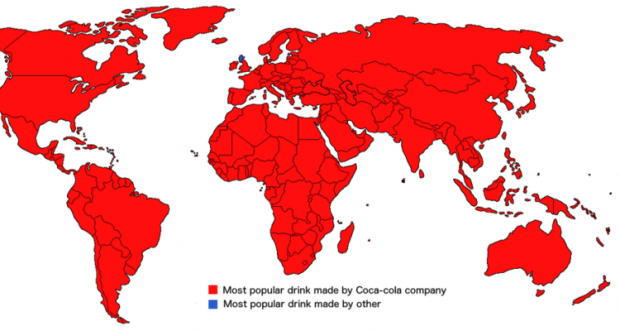 This map shows scotland is the only country in the world where coca this map shows scotland is the only country in the world where coca cola doesnt own the most popular soft drink gumiabroncs Image collections