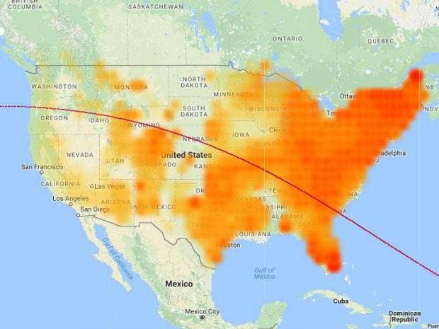 total eclipse s path across us to be tracked as solar panels electricity generation dips