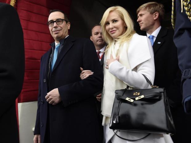 Wife of Donald Trump's treasury secretary boasts about ...