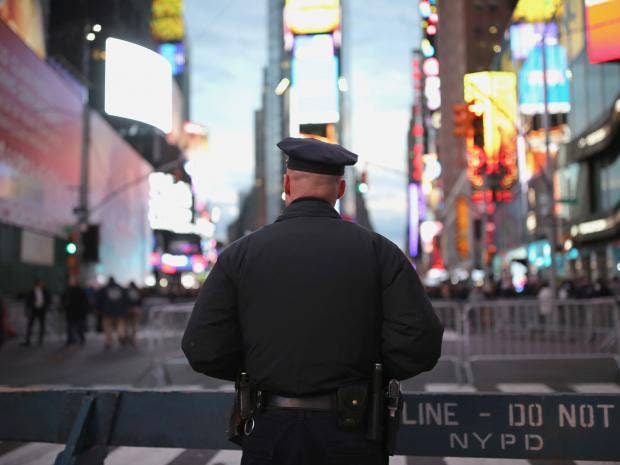 A police union has claimed officers are victims of 'blue racism' REUTERS