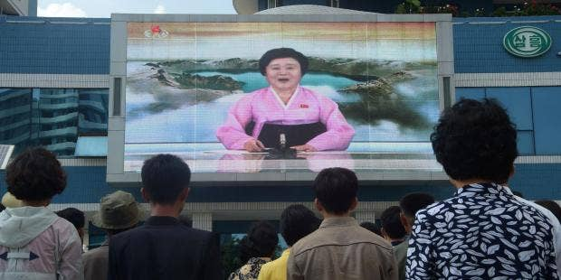 The internet is obsessed with the lady who reads the North Korea news