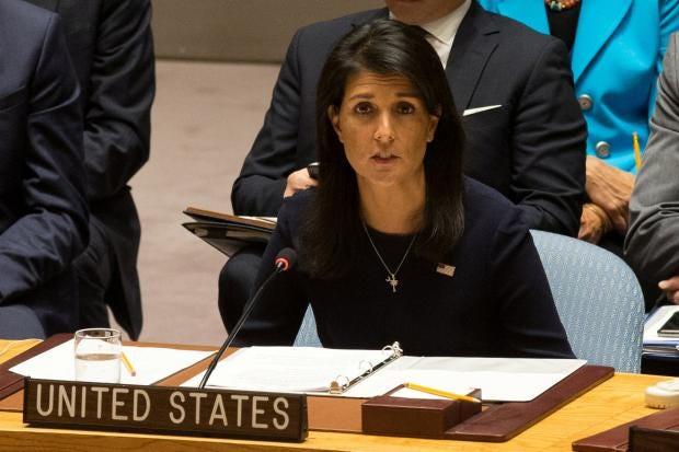 UN ambassador Nikki Haley breaks the law by retweeting Donald ...