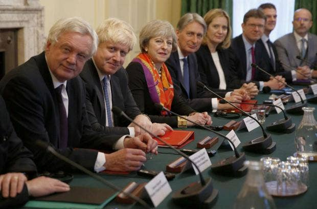 Theresa May and David Davis 'selectively' quoted report to justify ...