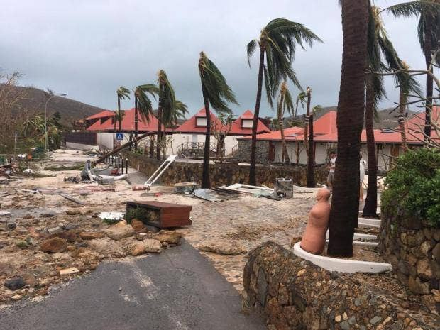 Irma Pippa Middleton S In Laws Hotel Destroyed By Storm On Caribbean Island St Barts The