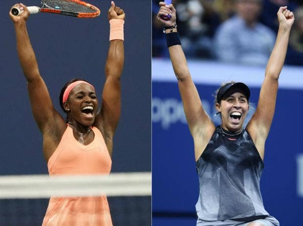 Madison Keys And Sloane Stephen's US Open Final