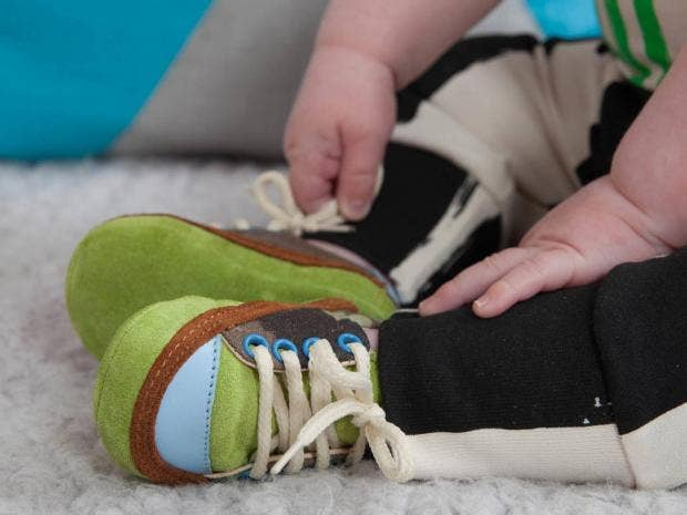 Baby steps: children's shoes can help strengthen ligaments and improve  posture