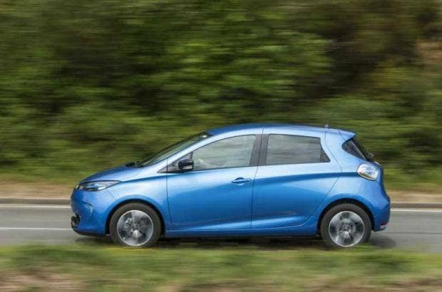 Electric Cars Living With The Renault Zoe The Independent