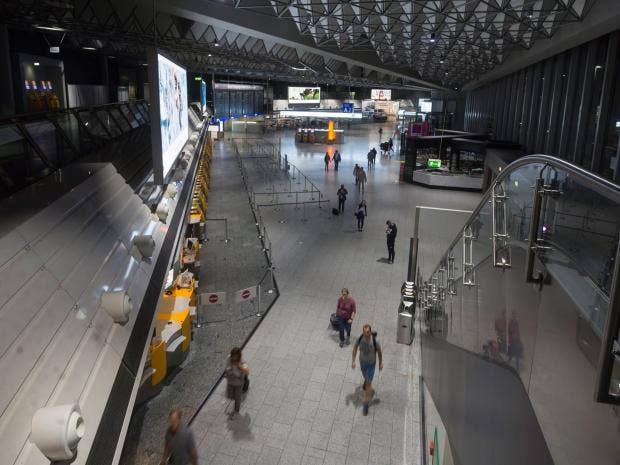 Frankfurt Airport attack: Tear gas incident leaves several
