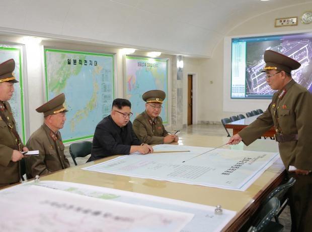 North Korea Nuclear Crisis Kim Jongun Using Old Google Earth - Google map us base korea