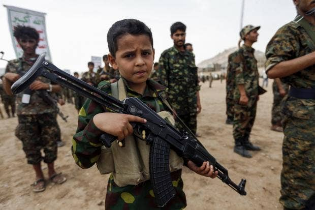 Number Of Child Soldiers In Middle East Doubles In A Year