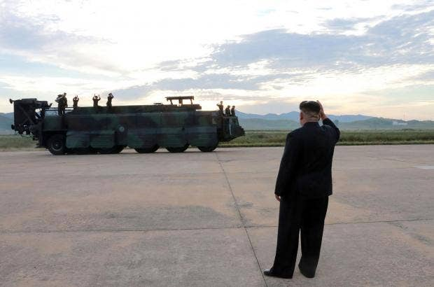 North Korean leader Kim Jong-un vows to achieve military 'equilibrium' with  US