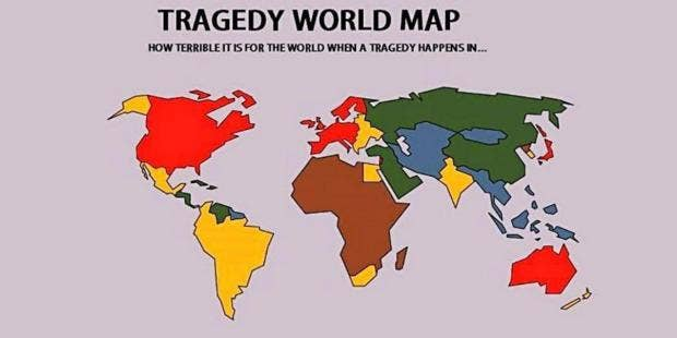 The world map of tragedy makes a brutal point the independent world map tragedy crises europe africa north america asia russiathe world map of tragedy makes a brutal pointimageonenable related videosenable video gumiabroncs Choice Image