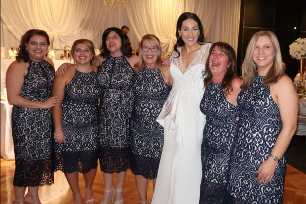 Six Wedding Guests Turn Up Wearing The Same Dress We Are Not Bridesmaids