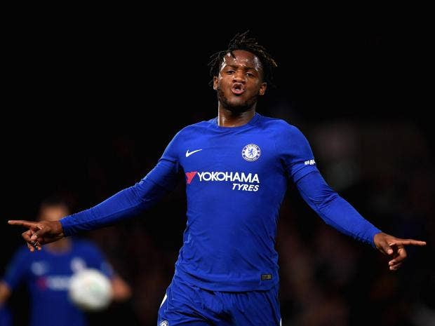 Chelsea  Nottingham Forest  Michy Batshuayi Hat Trick Seals Victory For Rampant Blues