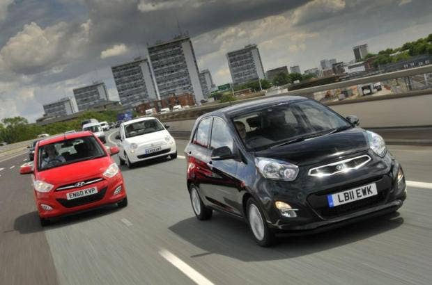 City Cars Fiat 500 V Hyundai I10 V Kia Picanto The Independent