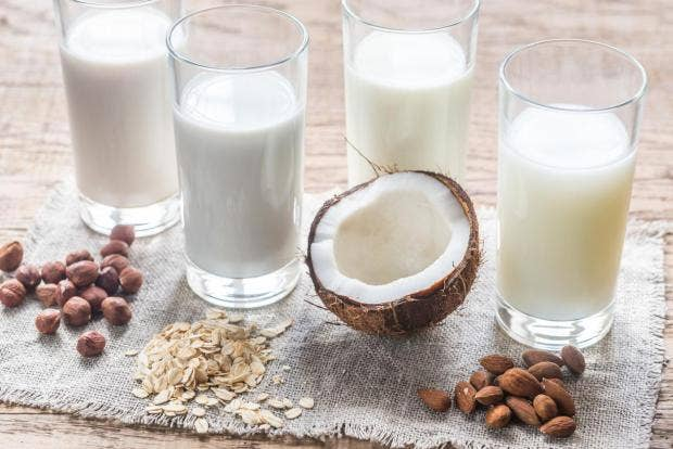 Dairy-free milks could leave consumers at risk of iodine deficiency, study  finds