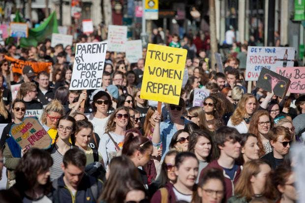 Irish government approves wording for abortion referendum