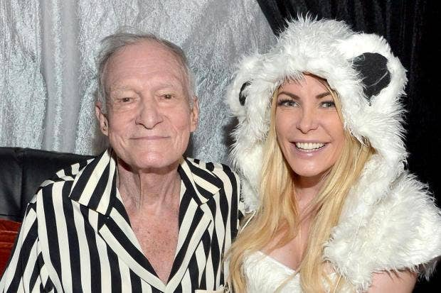 Hugh Hefners 31 Year Old Wife Will Inherit House Worth Millions Despite Being Left Out Of