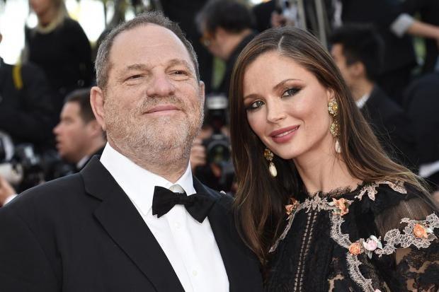 Harvey Weinstein's w...