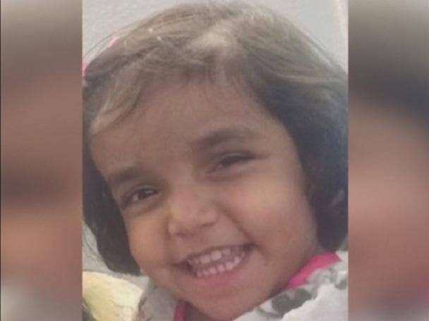 This 3 year old girl found missing after Father