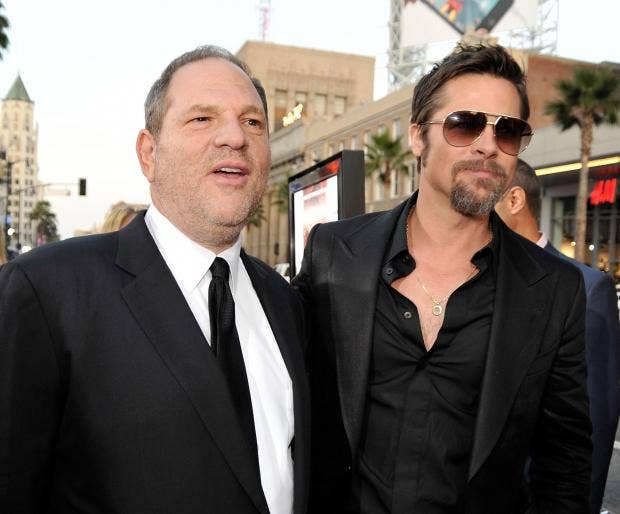 Brad pitt confronted harvey weinstein after alleged sexual brad pitt confronted harvey weinstein after alleged sexual harassment of then girlfriend gwyneth paltrow stopboris Image collections