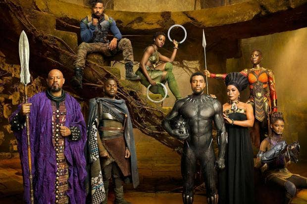 Image result for Black Panther movie cast