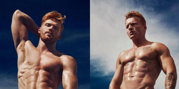 Gay Ginger Muscle