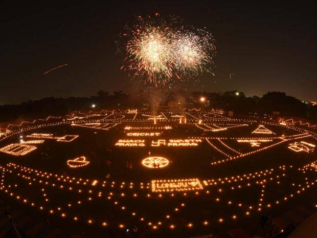 Diwali 2017 Festival Of Light Celebrations Around The