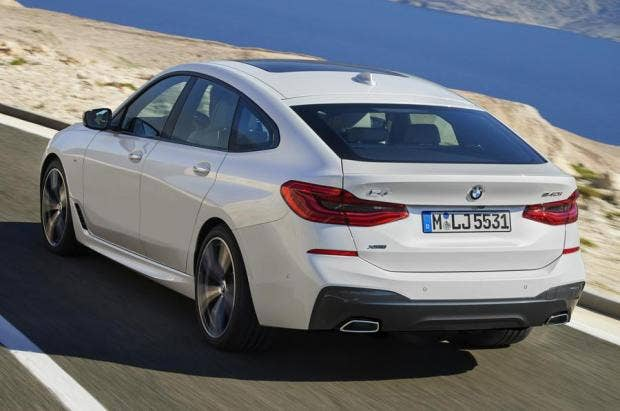 BMW 6 Series Testing The New GT