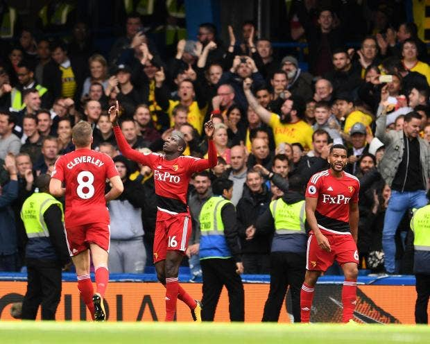 Chelsea Vs Watford: Chelsea Vs Watford As It Happened: Champions Come From