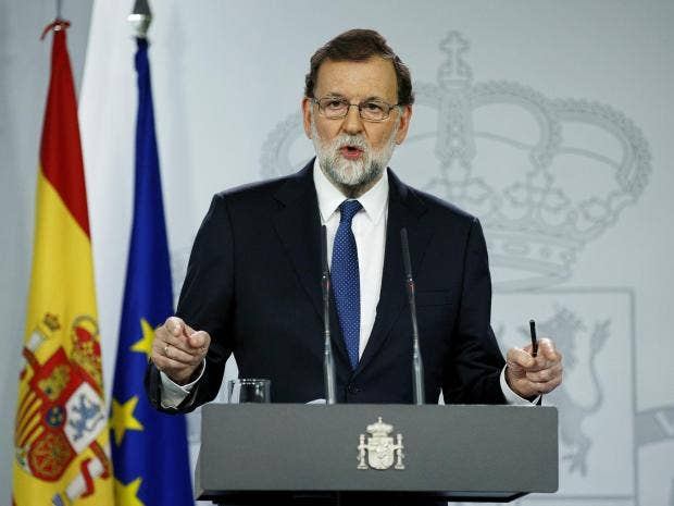 Image result for spanish Prime Minister Mariano Rajoy