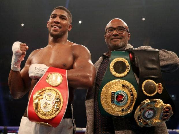 Anthony Joshua vs Deontay Wilder will happen in 2018, Eddie Hearn reveals